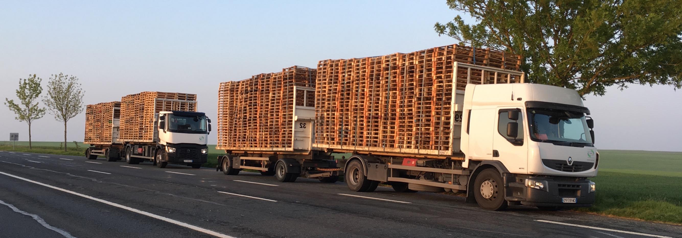 Camions-remorques grands volumes