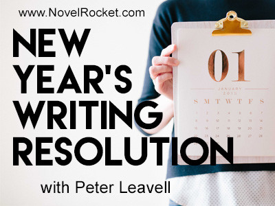 New Year's Writing Resolution