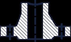 Тип 21 - Фланец корпуса арматуры