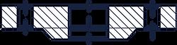 Тип 01 - Фланец стальной плоский приварн
