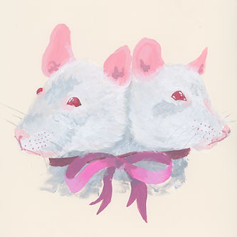 ART DRAWING RATS