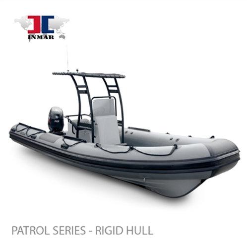 """600R-PT (20'4"""") Patrol Series (Rigid Hull) Inflatable Boat w/ Suzuki 115hp"""