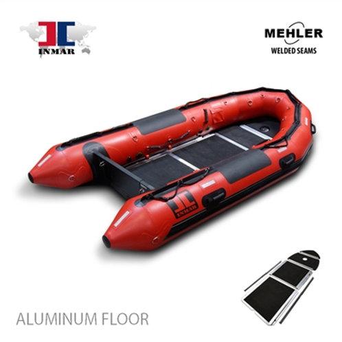 """380-SR-HD (12' 5"""") INMAR Mehler Welded Seem Search & Rescue Boat"""