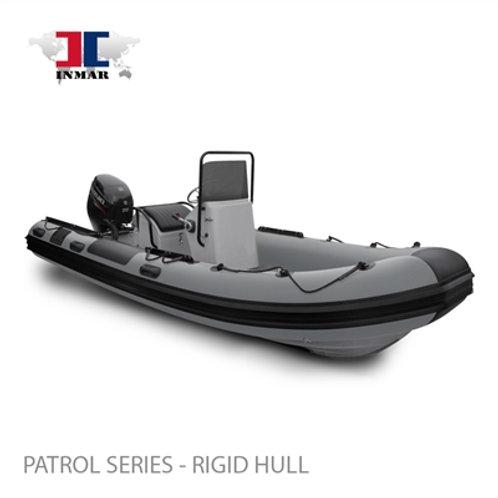 """520R-PT (17'6"""") Patrol Series (Rigid Hull) Inflatable Boat w/ Suzuki 70hp"""