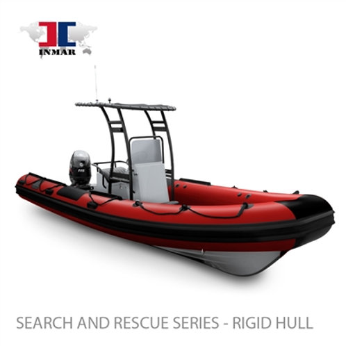 "Inmar 600R-DR (20'4"") Dive / Rescue Series Boat w/ Suzuki 115hp"