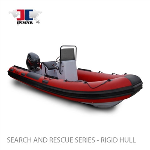 "Inmar 520R-DR (17'6"") Dive / Rescue Boat w/ Suzuk"