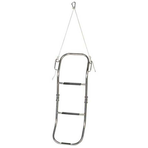 Swim ladder for inflatable boats