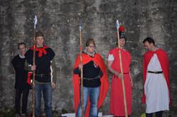 Die Wachen stehen bereit