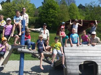 Ausflug zum Gomadinger Teich