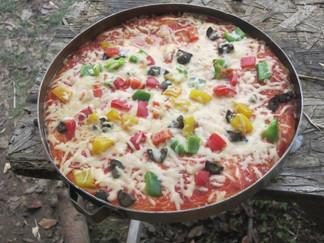Pizza ohne Backofen?!