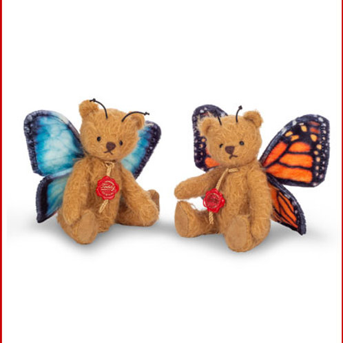 Butterfly Teddy Blue (left) and Butterfly Teddy Orange (right) 11749 and 11748