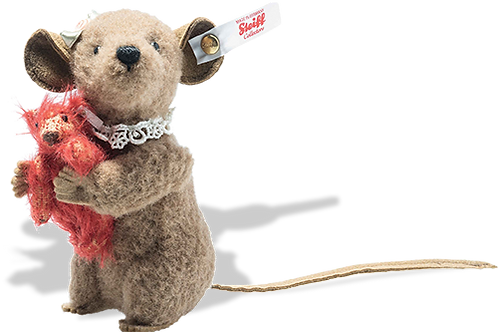 Xenia Mouse with red bear 006142