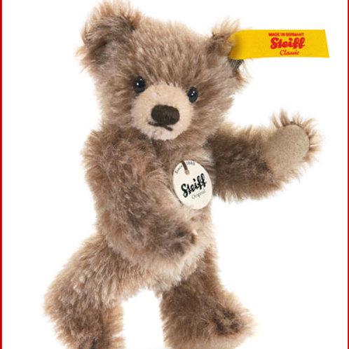 Mini Teddy Bear 040023 Brown Tipped Mohair