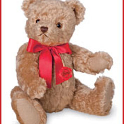 Traditional Teddy Bear with growler 16840