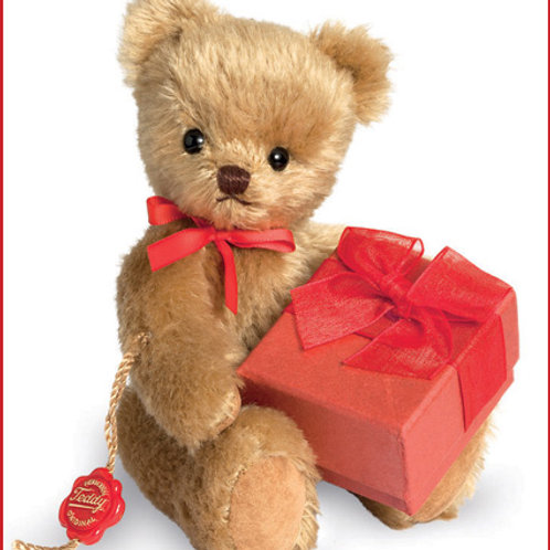 Little Teddy with Gift 15613