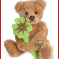 Lucky Teddy with Shamrock 15492