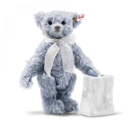 Lily Teddy Bear with vase 006777