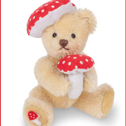 Lucky Teddy with Toadstool 15473