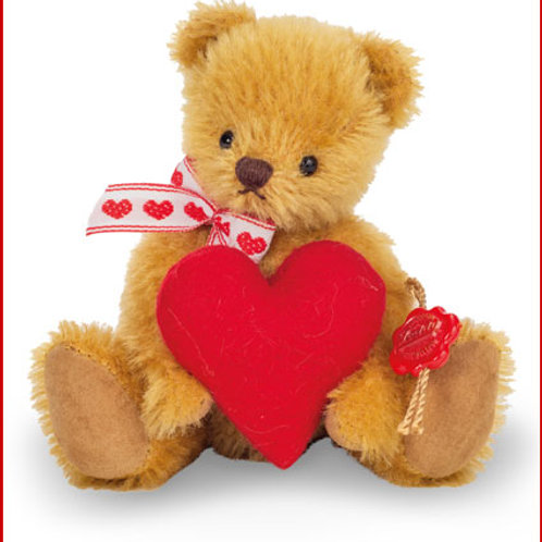 Little Teddy with Heart- gold 15608