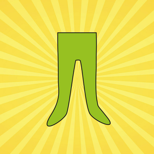 A Pair Of Childrens Tights For The Clothes A Pound Appeal