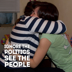 Ignore the Politics, See the People