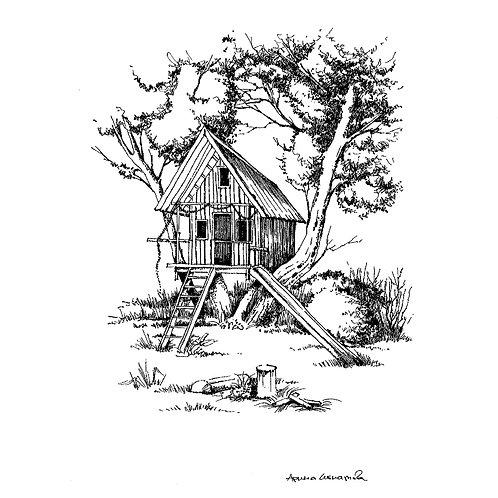 Tree House (unframed)