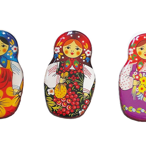 Russian Doll Fridge Magnets