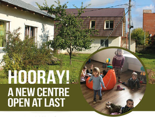 Hooray! A New Crisis Centre at Last!