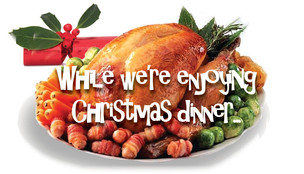 While we're enjoying Christmas dinner...