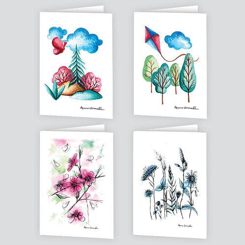 Notelets by Arina x 8