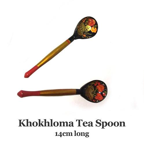 Russian Khokhloma Tea Spoon