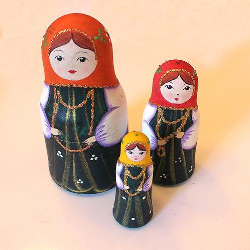 Bottle Shape Dolls 3's