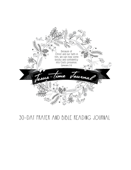 Jesus-Time Journal for Women