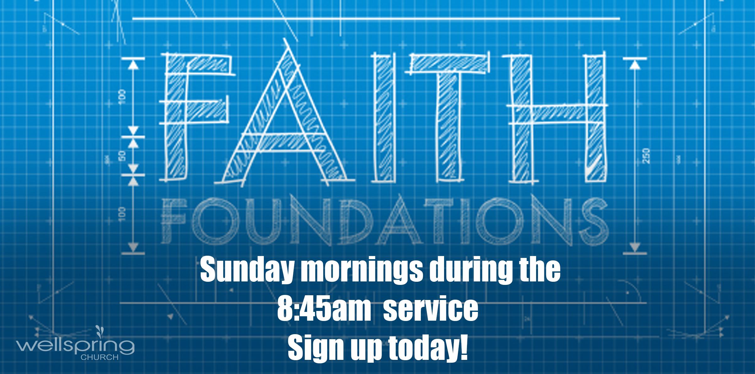 Faith Foundations Class