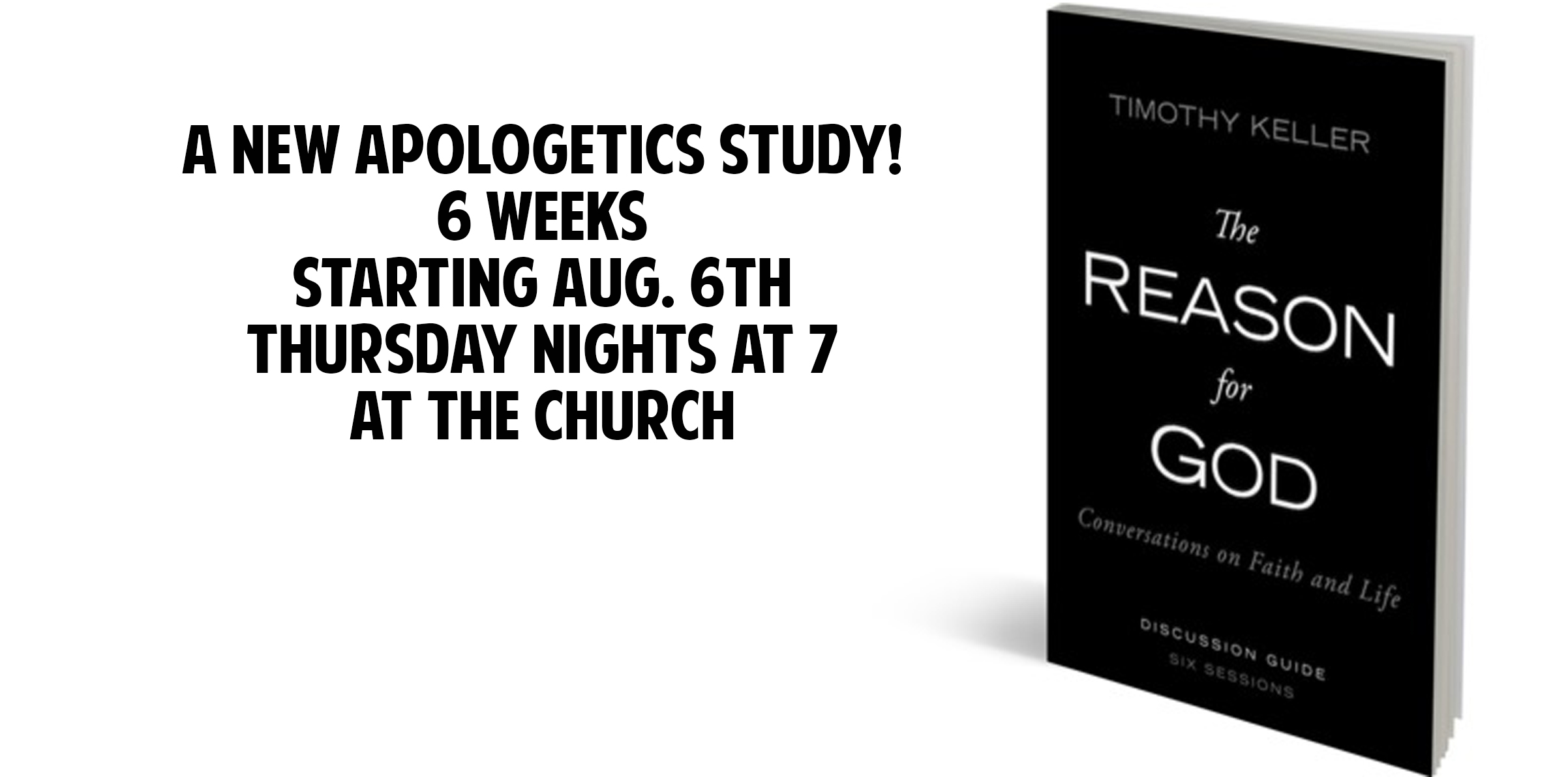 Reason for God study