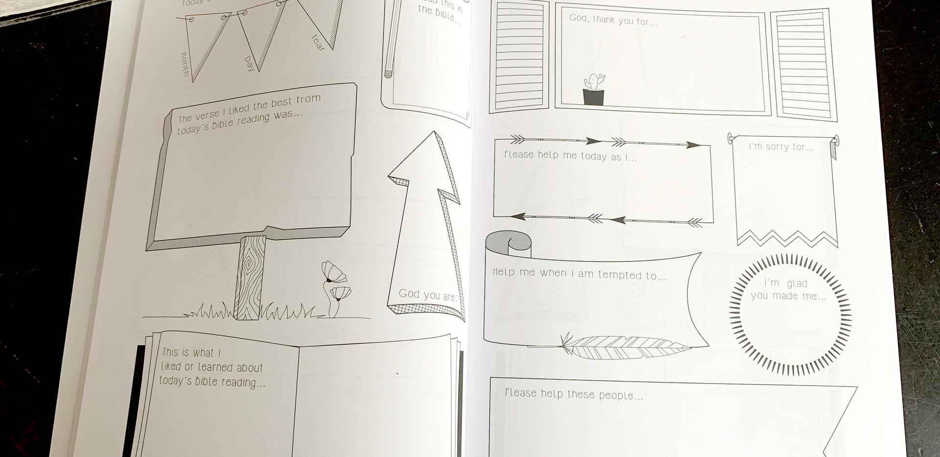 Kids Journal Inside