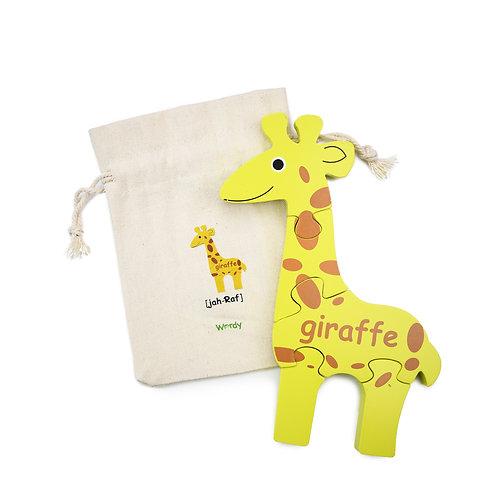 The Wordy Giraffe Puzzle