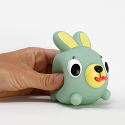 Jabber Ball Green Bunny-10