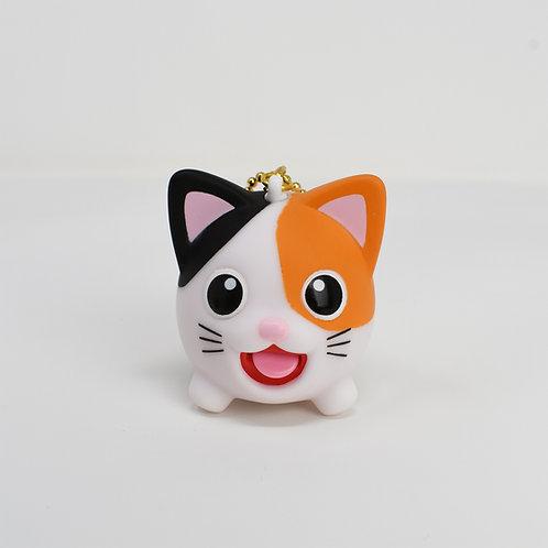 Calico Cat Jibber Pet Charm