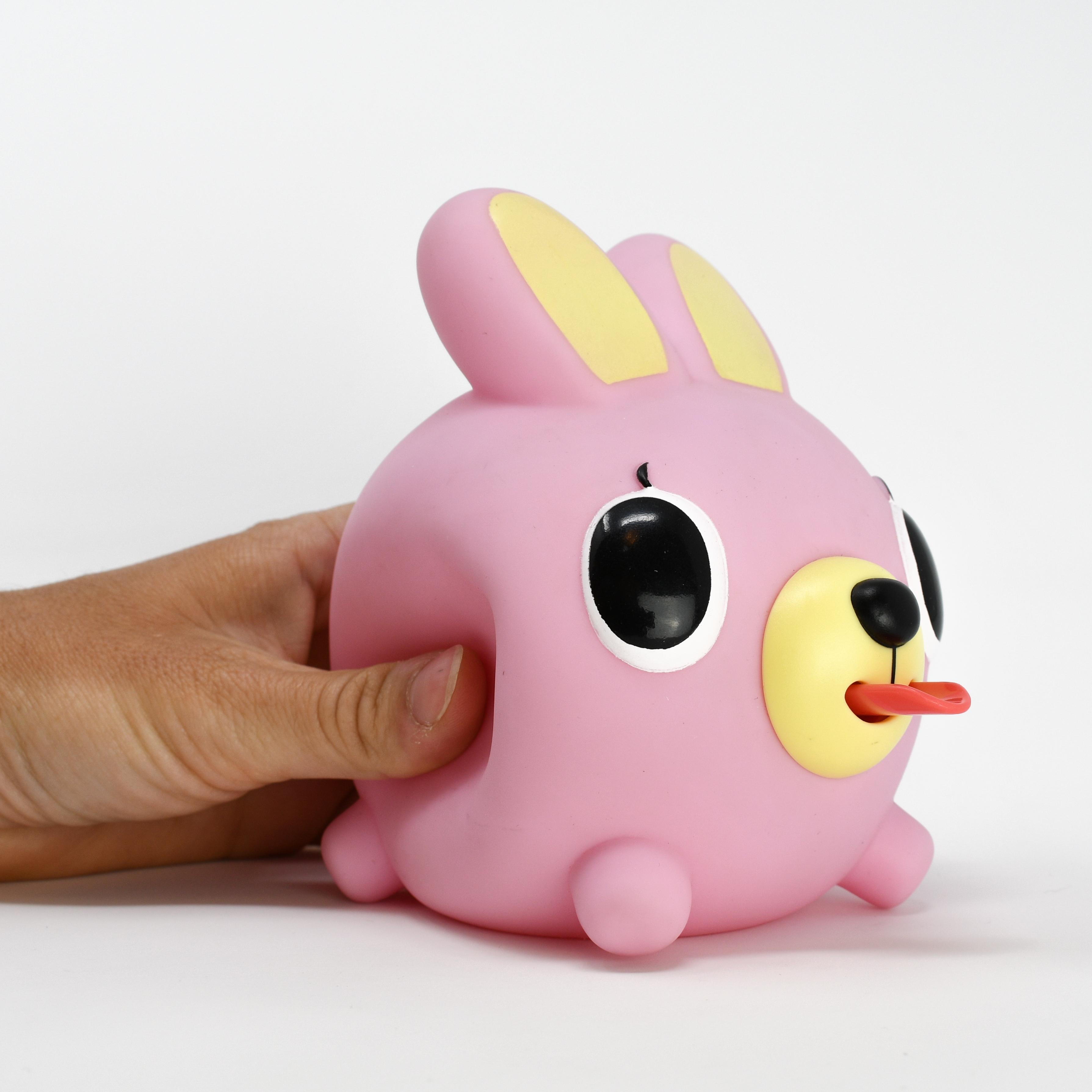 Jabber Ball Pink Bunny-10
