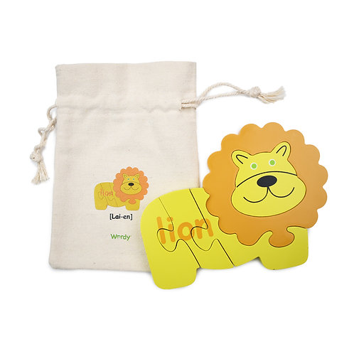 The Wordy Lion Puzzle