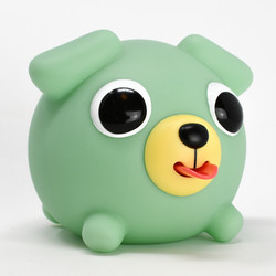 Jabber Ball Green Dog-9
