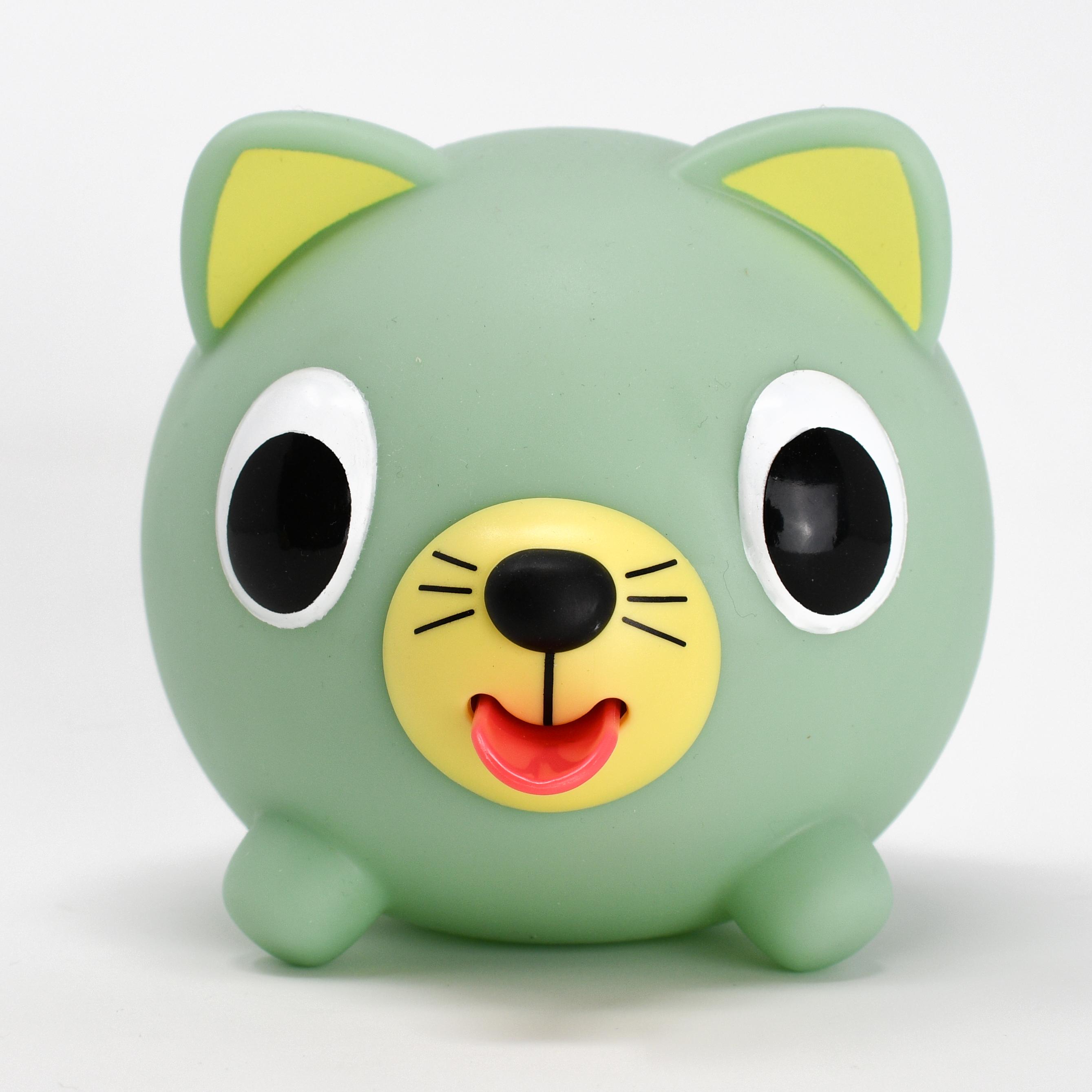 Jabber Ball Green Cat-2