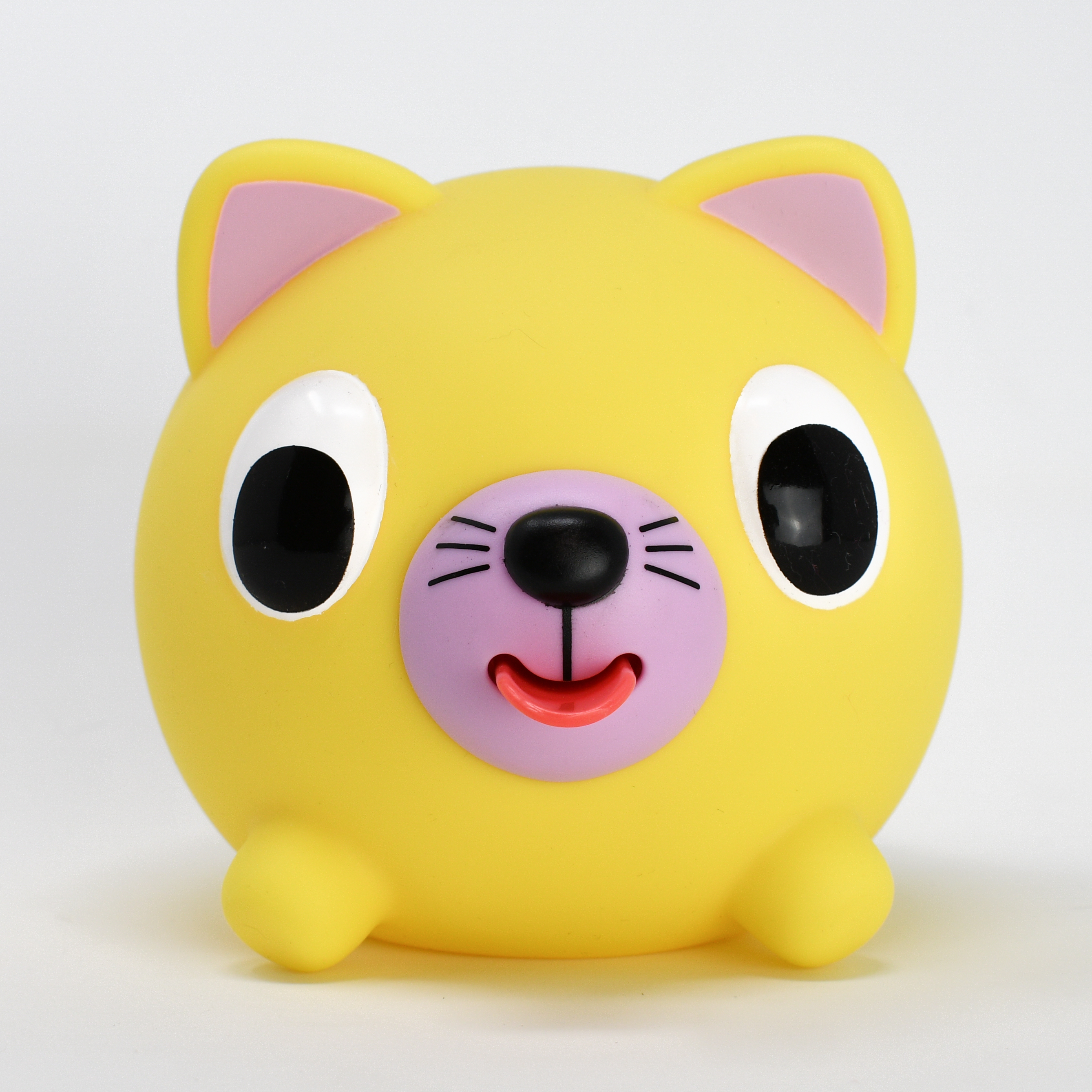 Jabber Ball Yellow Cat-2