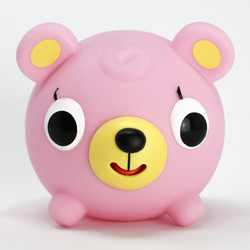 Jabber Ball Pink Bear-1