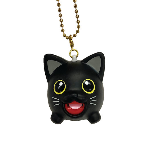 Black Cat Jibber Pet Charm
