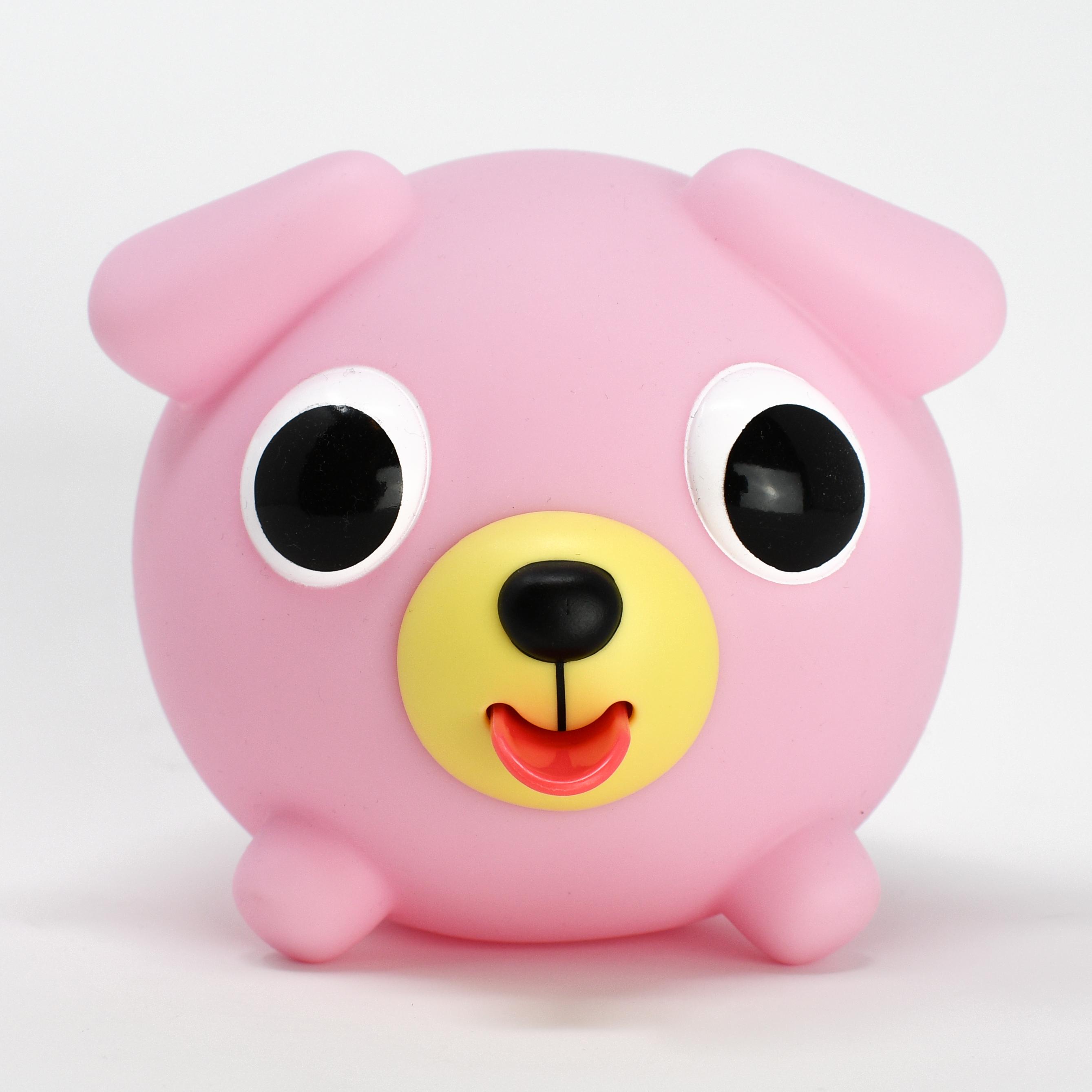 Jabber Ball Pink Dog-2