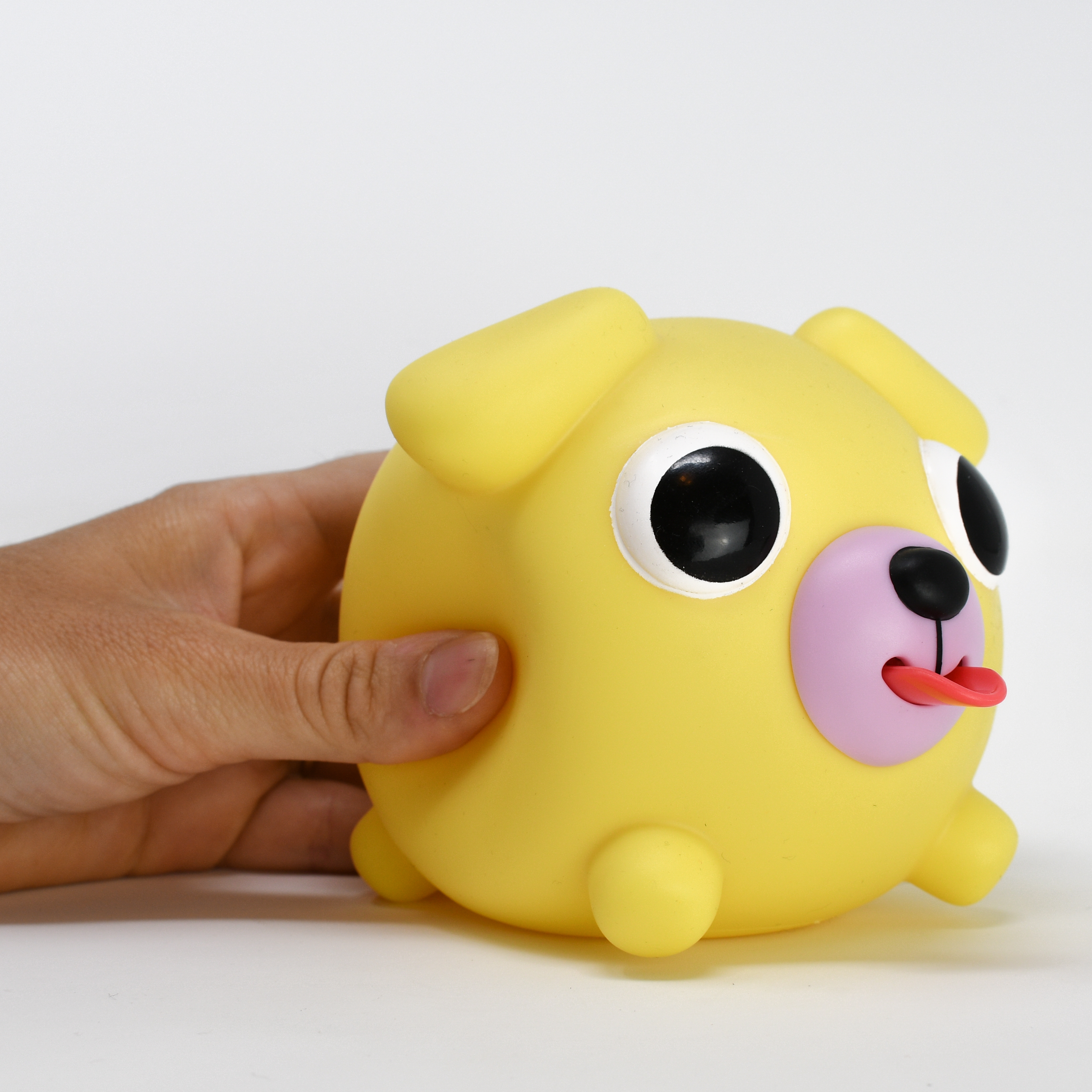 Jabber Ball Yellow Dog-10