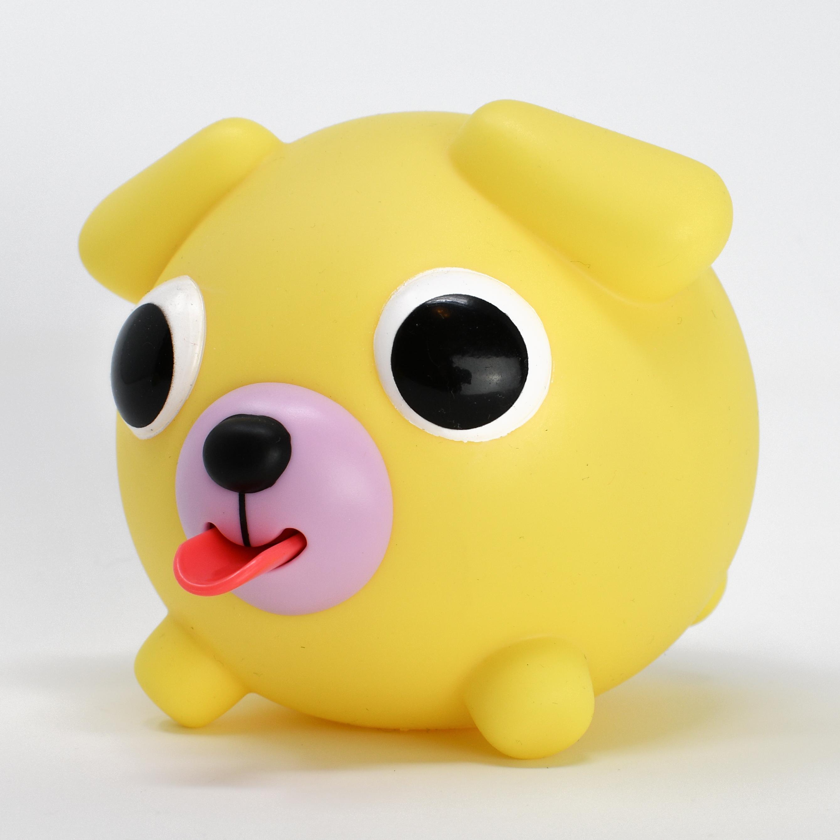 Jabber Ball Yellow Dog-8