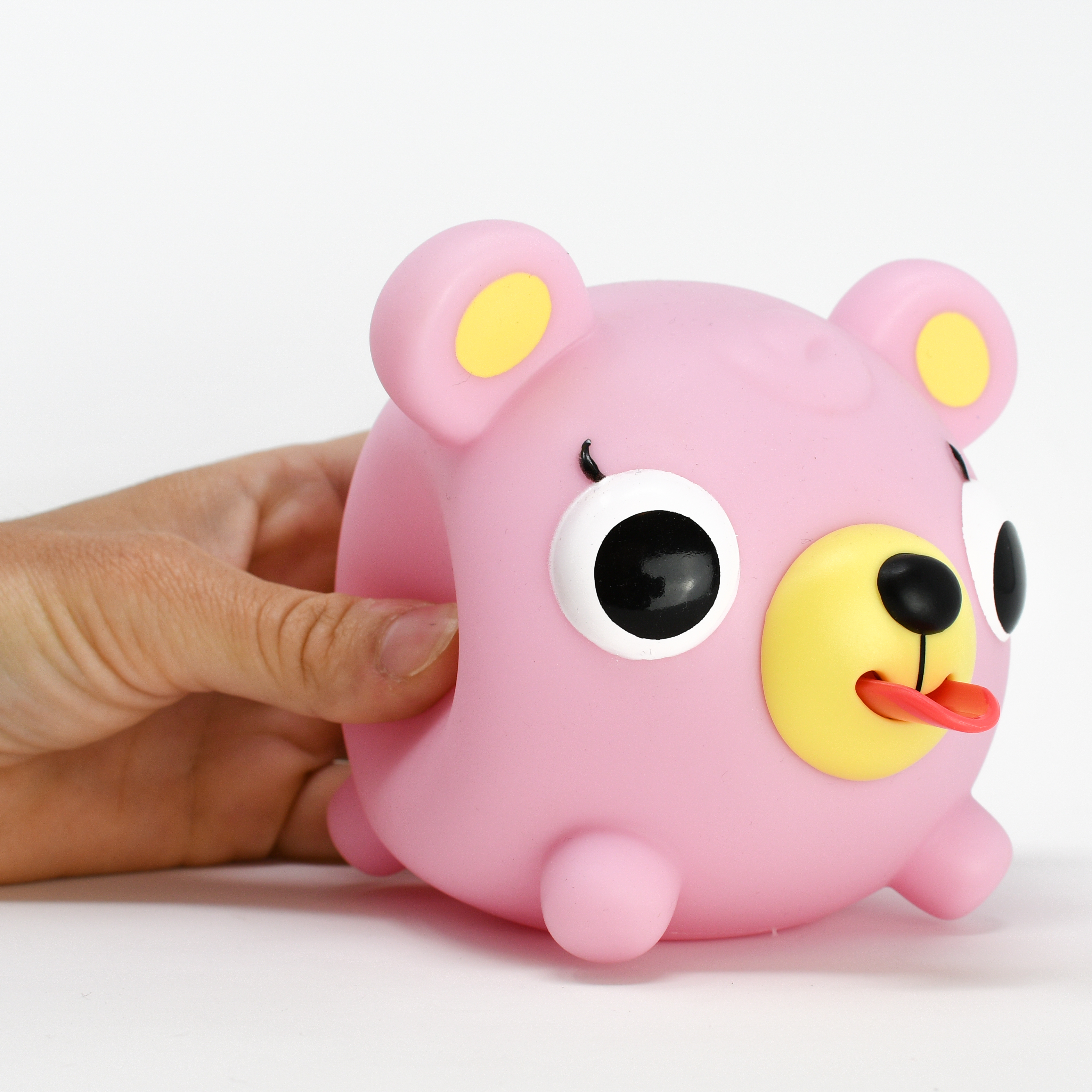 Jabber Ball Pink Bear-8